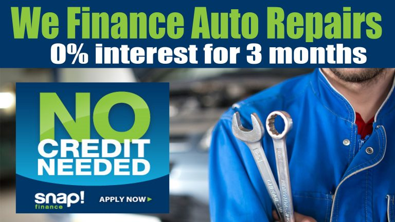 SNAP Auto Repair Financing Maine and NH